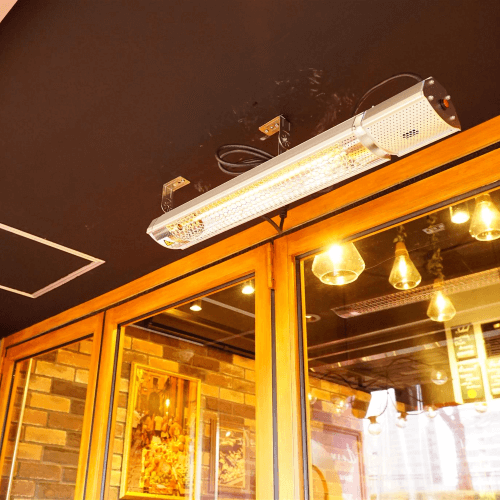 ceiling infrared heater IP65