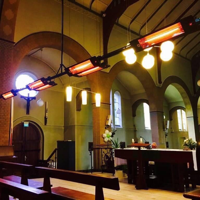 heater in church