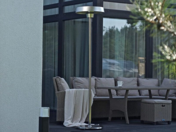 gas type electric patio heater