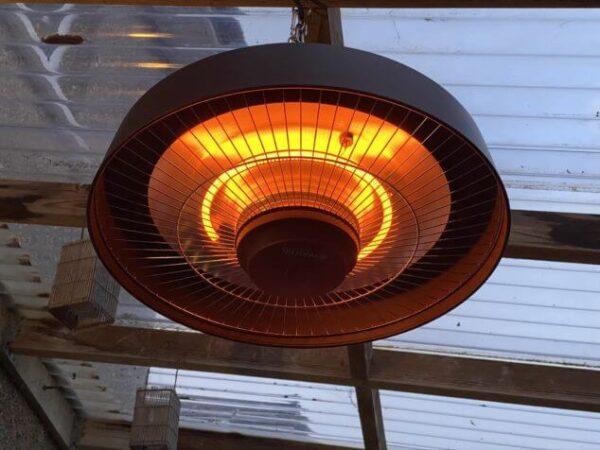 hanging gazebo heater