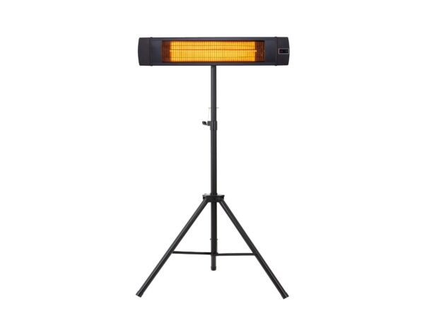 standing carbon infrared patio heater