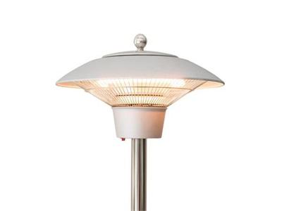 white lamp heater